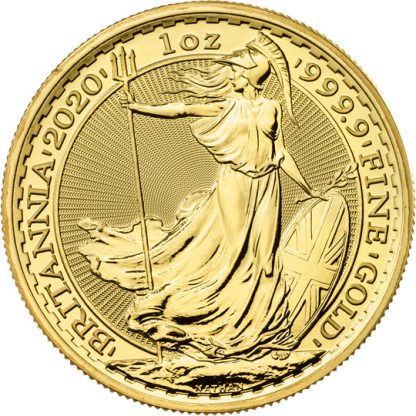 Britannia 2020 1 oz Gold Bullion Coin